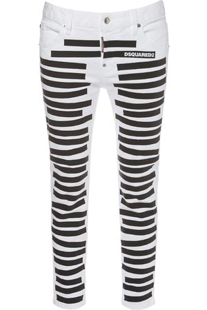 Dsquared2 Classified Cool Girl Cotton Denim Jeans