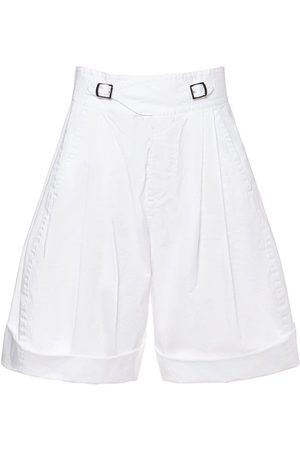 Dsquared2 Monkstrap Cotton Twill Bermuda Shorts