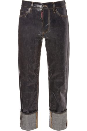 Dsquared2 Glassified New Sailor Cotton Denim Jeans