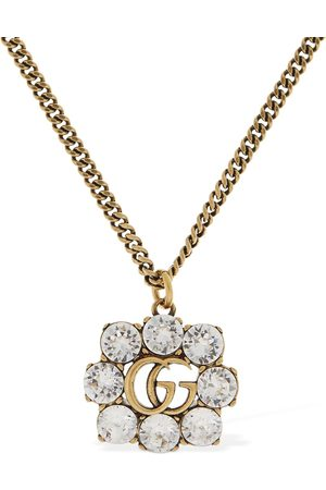 Gucci Gg Marmont Necklace W/ Crystal