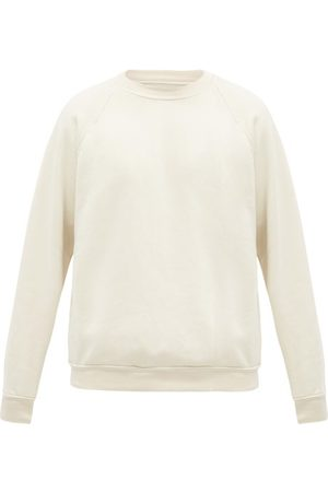 Les Tien Men Sweatshirts - Crew-neck Brushed-back Cotton Sweatshirt - Mens