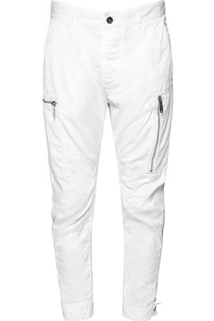 Dsquared2 Stretch Cotton Canvas Sexy Cargo Pants