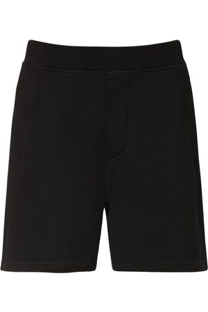 Dsquared2 Over Refractive Logo Print Jersey Shorts