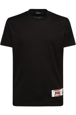 Dsquared2 Logo Tag Cotton Jersey T-shirt