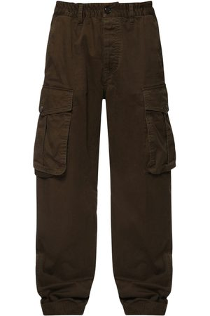 Dsquared2 Oversize Stretch Cotton Cargo Pants