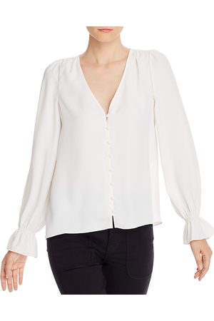 Joie Women Tops - Bolona Bell Cuff Button Front Top