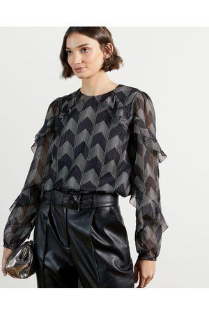 Ted Baker Women Blouses - Ruffle Sleeve Blouse