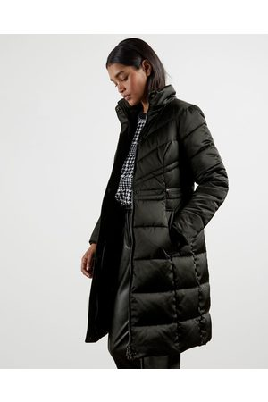 Ted Baker Puffer Jackets - Long Belted Padded Coat