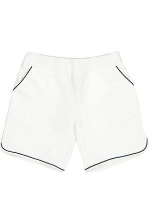 Loro Piana Bermuda Sailboats cotton shorts