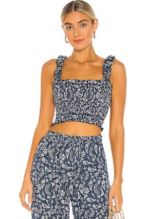 coolchange Remi Meadow Top in Navy.