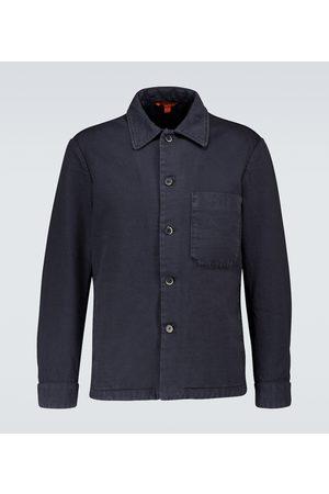BARENA Rocheo Tober cotton overshirt