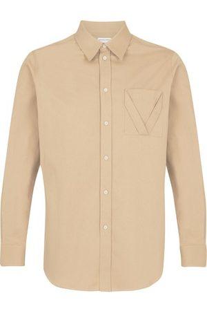 Bottega Veneta Men Long sleeves - Light Cotton shirt