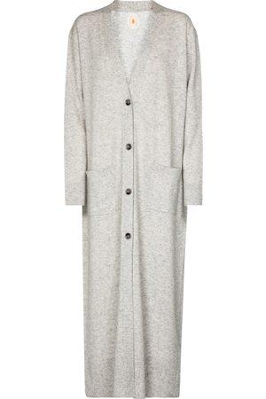 Jardin des Orangers Longline wool and cashmere cardigan
