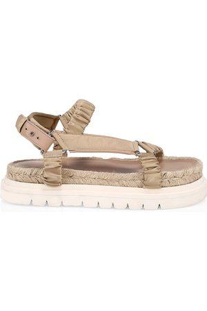3.1 Phillip Lim Women's Noa Satin & Leather Platform Sport Sandals - - Size 39 (9)