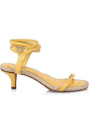 3.1 Phillip Lim Women's Yasmine Ankle-Strap Leather Espadrille Sandals - - Size 41 (11)