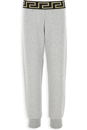 VERSACE Little Boy's & Boy's Plain Jersey Sweatpants - - Size 12