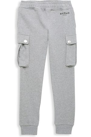 Balmain Little Kid's & Kid's Cotton Cargo Joggers - - Size 12