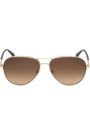 Tom Ford Women's Clark 61MM Aviator Sunglasses