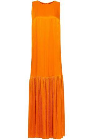 Rodebjer Women Maxi Dresses - Woman Cherrie Fringed Satin-crepe Maxi Dress Size M