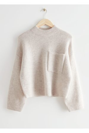 & OTHER STORIES Chest Pocket Knit Sweater
