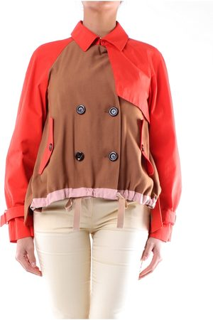 LOST IN ME Trench Women Mud and coral