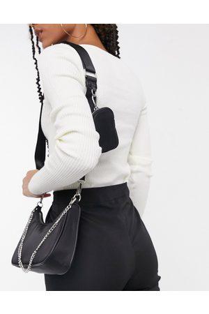 Steve Madden BVital crossbody bag with chain strap in