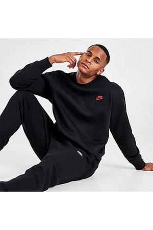Nike Sportswear Club Fleece Crewneck Sweatshirt in / Size Small Cotton/Polyester/Fleece