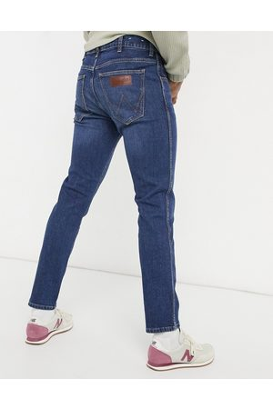 Wrangler Larston slim jeans-Blues