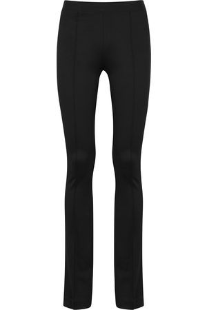 Helmut Lang Flared stretch-jersey leggings