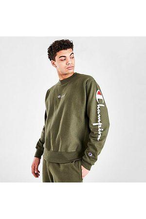 Champion Men's Reverse Weave Crewneck Sweatshirt Size Small Cotton/Fleece