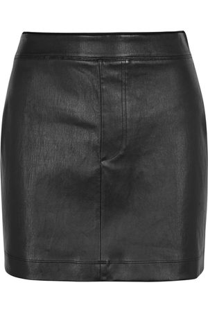 Helmut Lang Leather mini skirt