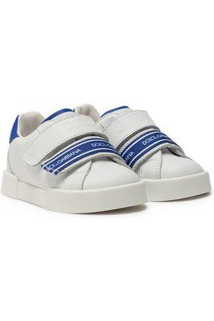 Dolce & Gabbana Logo-print touch-strap sneakers