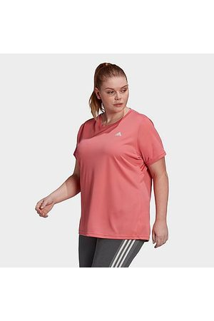 adidas Women T-shirts - Women's AEROREADY Designed 2 Move Training T-Shirt (Plus Size) in Size Extra Large Polyester