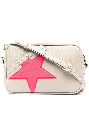 Golden Goose Star leather shoulder bag - Neutrals
