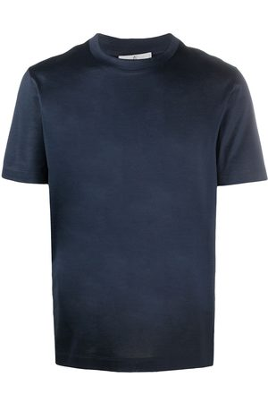 CANALI Men Short Sleeve - Short-sleeve cotton T-shirt