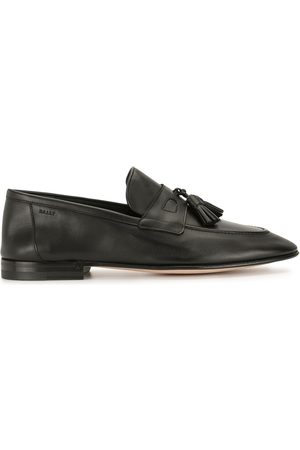 Bally Polished-finish fringe-detail loafers