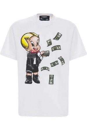 DOMREBEL Baller 25 Cotton Jersey T-shirt