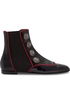 Dolce & Gabbana Jackie button-embellished Chelsea boots