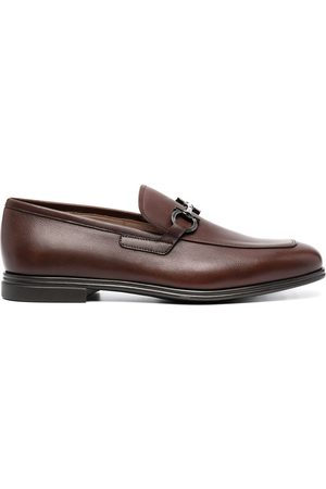 Salvatore Ferragamo Gancini bit slip-on loafers