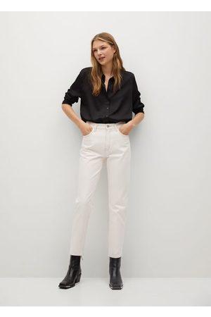 MANGO Women Jeans - Mom-fit jeans