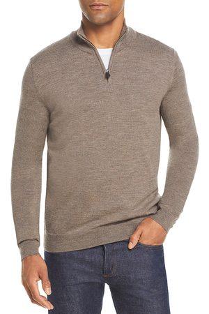 Bloomingdale's Men Sweaters - Quarter-Zip Merino Sweater - 100% Exclusive