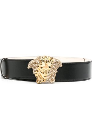 VERSACE Women Belts - Medusa-buckle belt