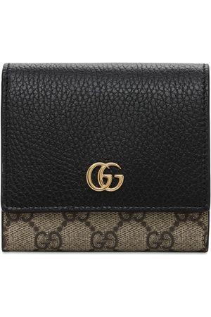 Gucci Petite Marmont Gg Supreme Wallet