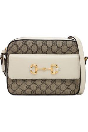 Gucci 1955 Horsebit Gg Supreme Shoulder Bag