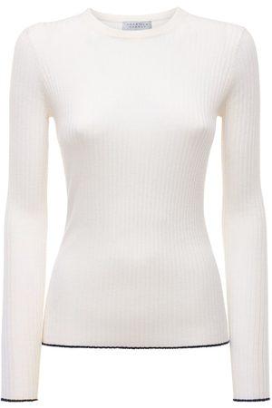 GABRIELA HEARST Cashmere & Silk Knit Crewneck Sweater