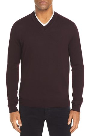 Bloomingdale's V-Neck Merino Sweater - 100% Exclusive