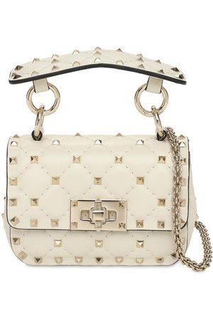 VALENTINO GARAVANI Micro Rockstud Spike Leather Bag