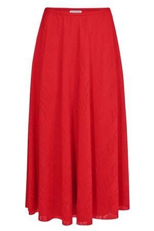 Balenciaga Women Midi Skirts - Stretch Skirt