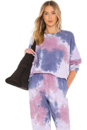 Lovers + Friends Sienna Sweatshirt in Purple,Lavender.