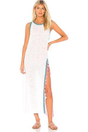 Pitusa Women Maxi Dresses - Tassel Slit Dress in .
